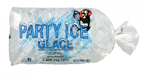 Party Ice packaged ice