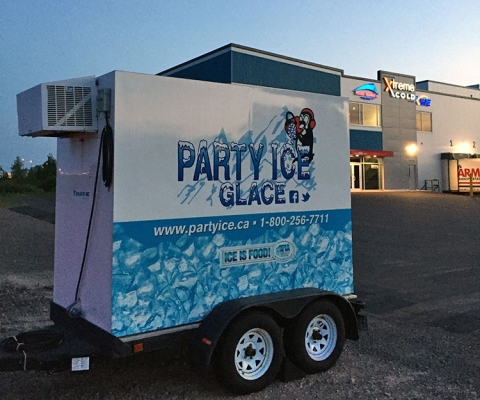 Party Ice Event Trailer Rentals