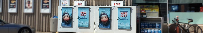 Party Ice Ice Merchandisers