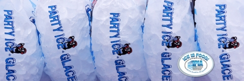 Party Ice packaged ice IPIA approved