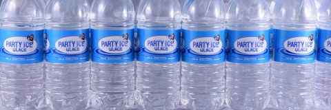 Party Ice Bottled Water