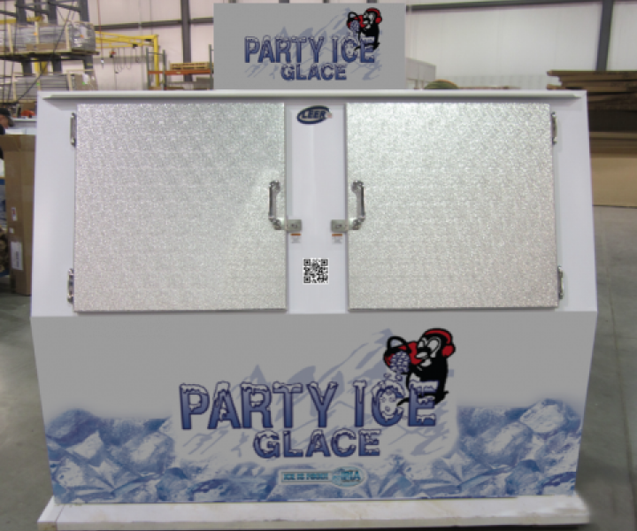 Custom Ice Merchandisers